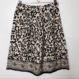 Signature Bobbie Bee beige/tan black skirt 6
